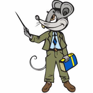 Mouse Teacher Photo Sculptures
