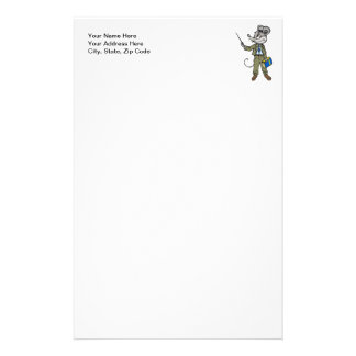 Mouse Teacher Stationery Paper
