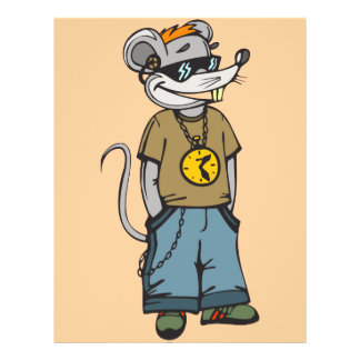 Mouse Teenager Flyer
