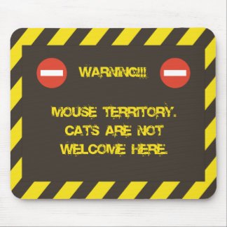 Mouse Territory Mouse Pad