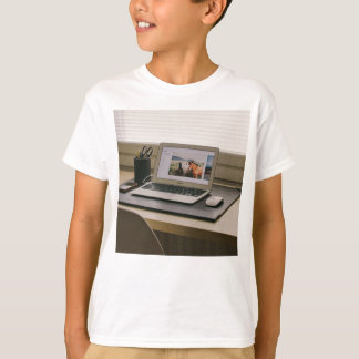 Mouse Themed, A Picture Containing A Laptop, A Mou T-Shirt