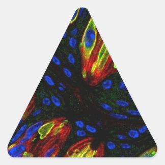 Mouse tongue epithelium triangle sticker