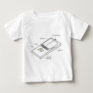 mouse trap baby T-Shirt