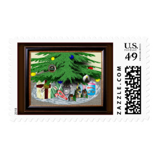Mouse Under the Tree Stamps