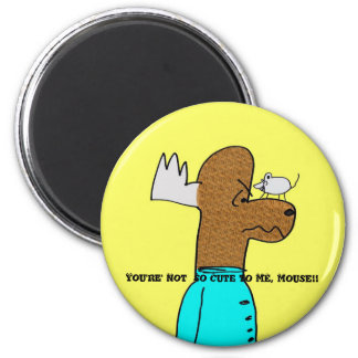 Mouse VS MOOse Magnet