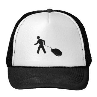 mouse walking trucker hat