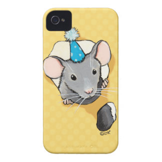Mouse Wearing a Party Hat Blackberry Bold Case