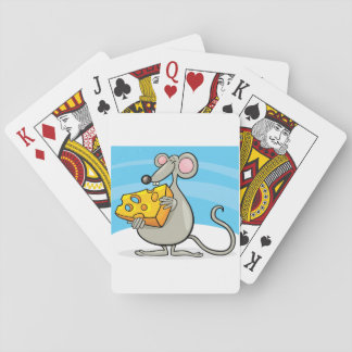 Mouse With Cheese Playing Cards