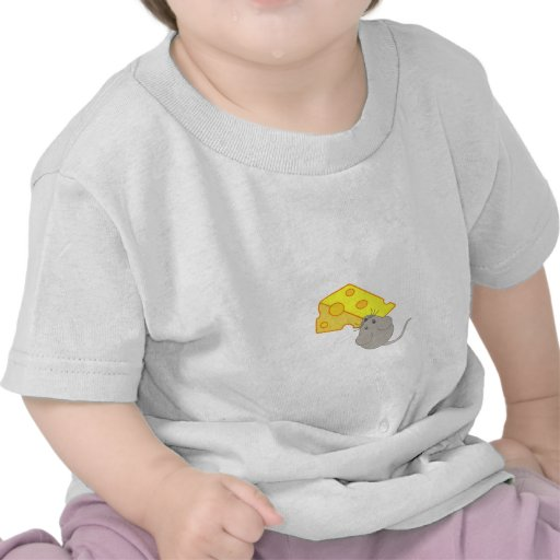 Mouse with Cheese T-shirts