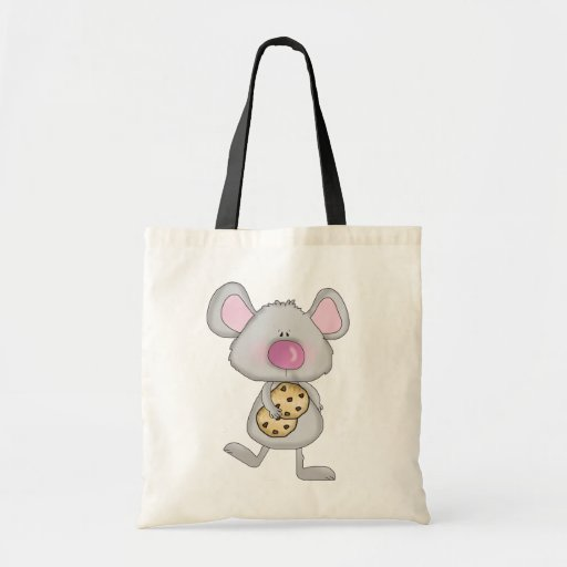 Mouse with Cookies Tshirts and Gifts Canvas Bag