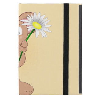 Mouse with Flower iPad Mini Cover
