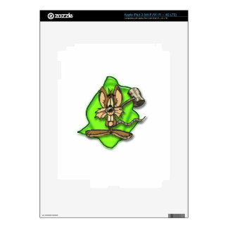 Mouse with Hammer iPad 3 Decals