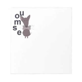 Mouse Woodland Creature Notepad