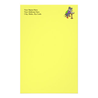 Mouse Writing Letter Customized Stationery