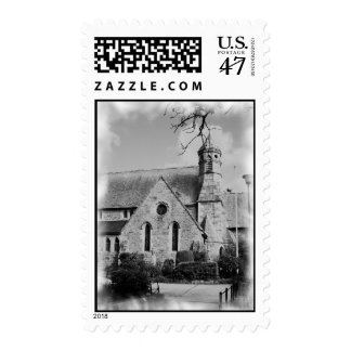 Mousehole, Cornwall (England) Church Postage Stamp