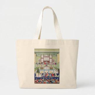Mousehole Methodist Chapel Cornwall Large Tote Bag