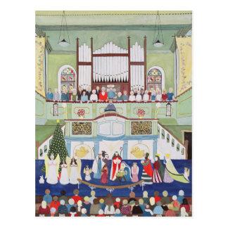 Mousehole Methodist Chapel Cornwall Postcard