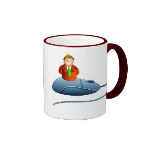 Mouseman Ringer Mug