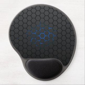 Mousemat azul del maleficio alfombrillas de raton con gel