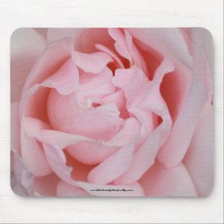 Mousemat color de rosa tapetes de raton