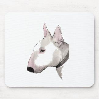 mousemat de bull terrier del inglés alfombrillas de ratones