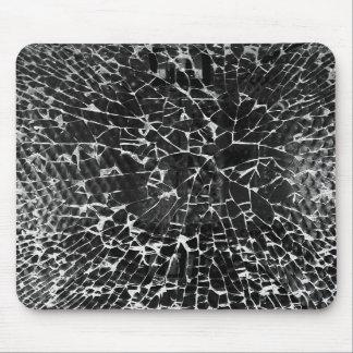Mousemat de cristal roto tapete de raton