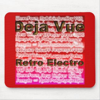 Mousemat del Album Art del Retro-Electro de Deja V Tapete De Ratón