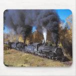 Mousemat del ferrocarril del vapor de Denver y del Alfombrilla De Ratones