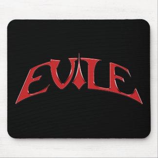 Mousemat del logotipo de Evile Alfombrillas De Ratón