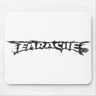 Mousemat del logotipo del dolor de oídos tapetes de raton