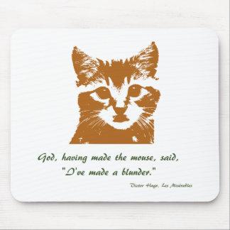 Mousemat: El gato Tapetes De Raton