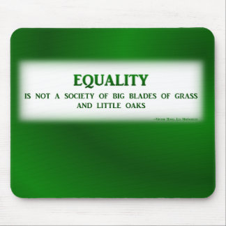 Mousemat: Equality Mouse Pad