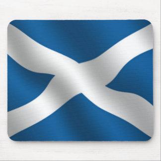 mousemat escocés de la bandera alfombrilla de ratones