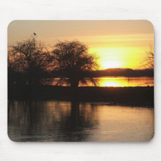 Mousemat - Floods at Tewkesbury 2008 Mouse Pad