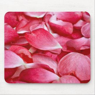 Mousemat horizontal - pétalo color de rosa alfombrilla de raton