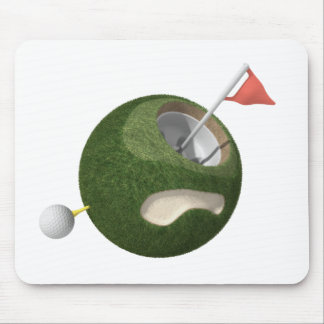 Mousemat | Mini Golf Planet Mouse Pad