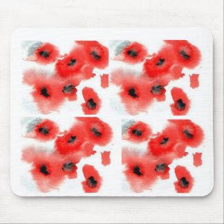 mousemat - poppies mouse pad
