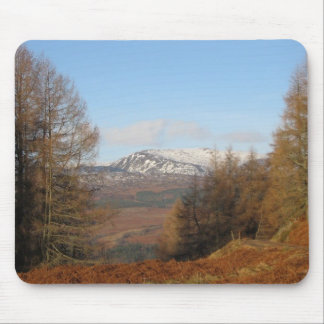 Mousemat,View from Torlum Hill, Crieff, Perthshire Mouse Pad