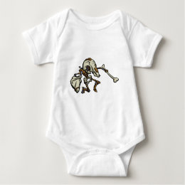Mousemech Scarbot Baby Bodysuit