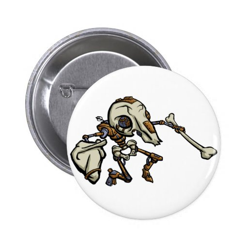 Mousemech Scarbot Pinback Buttons