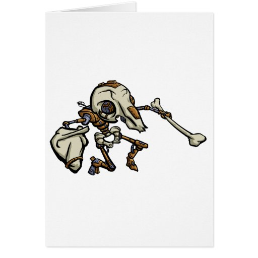 Mousemech Scarbot Greeting Cards