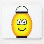 Japanese lantern emoticon   mousepad