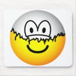 Peeled emoticon   mousepad