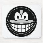 Black widow smile   mousepad