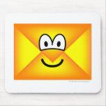 Envelope emoticon   mousepad