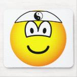 Karate emoticon   mousepad