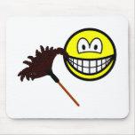 Dusting smile   mousepad