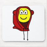 Hoodie buddy icon   mousepad