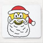 Santa emoticon   mousepad