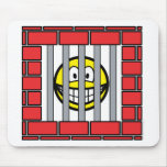 Jailed smile   mousepad